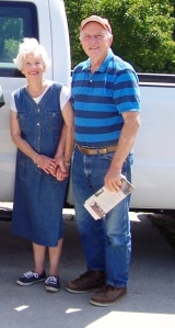 The EDR namesake, Elynor Davis and her husband, John