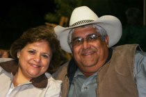 Carlos with his wife, Sister