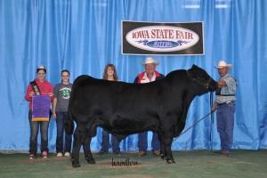 The Volk family at the 2012 Iowa State Fair